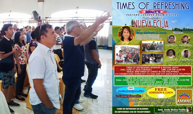 AMMNE Nueva Ecija times of refreshing